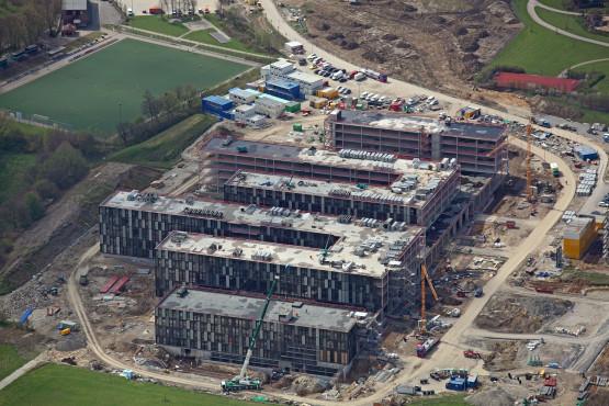 Luftbildaufnahme FH Bielefeld